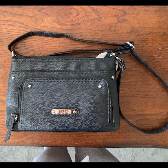 Nicole by Nicole Miller Small Cross Body Bag Shoulder Bag Purse Baby Blue
